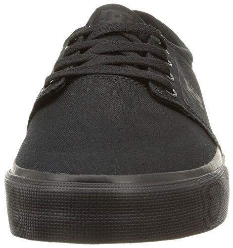 DC Men's Trase TX Unisex Skate Shoe Black