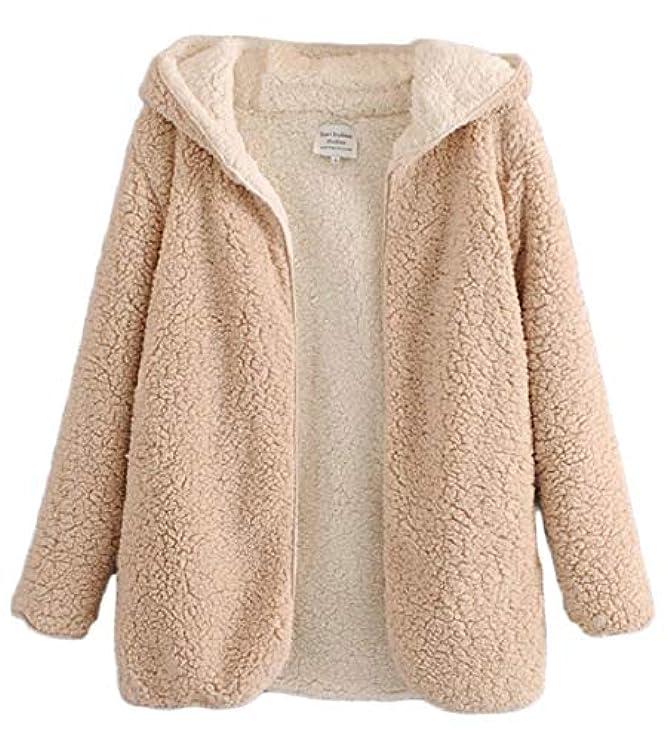 Cappotto Womens Senza Fleece Winter Parka Hooded Warm ca Thick Piumino Rg 85qHAwaWq