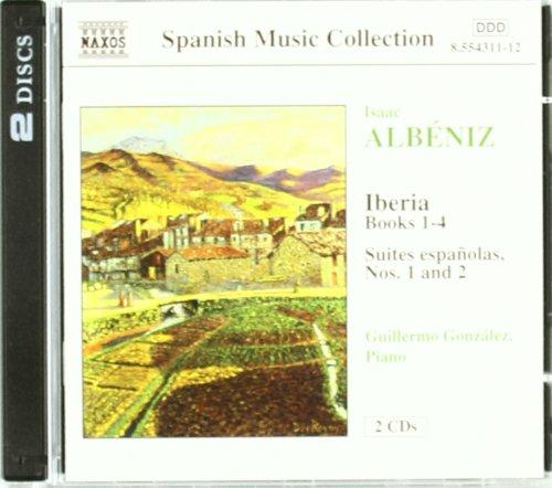 Albeniz: Iberia Books 1-4 / Suite Espanolas 1 & 2 (Albeniz Piano Pieces)