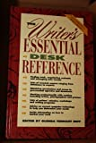 The Writer's Essential Desk Reference, , 0898794773