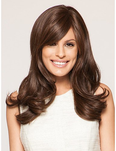 Wigs have an attractive convenience fashion Capless Long Wavy Mono Top Virgin Remy Human Hair Wigs 7 Colors to (Costume Store In Atlanta)