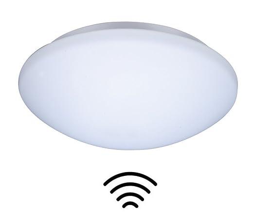 ZEYUN Lámpara de pared y techo LED con detector de movimiento de alta frecuencia fabricada con ...