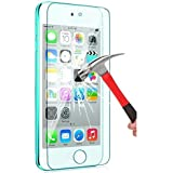 iPod Touch Screen Protector VL Tempered Glass for Apple iPod Touch 6th 5th Generation Scratch Resist Bubble-Free 0.2mm Ultra Thin 9H Hardness High Definition Premium Tempered Glass 2 PACK 1 PACK