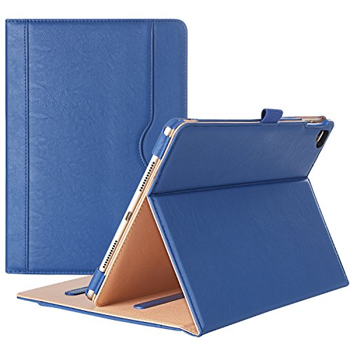 ProCase iPad Pro 9.7 Case Stand Folio Case Cover for Apple iPad Pro 9.7 Inch 2016, with Multiple Viewing Angles, Document Card Pocket (Navy Blue)