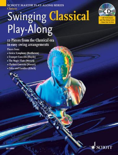 Swinging Classical Play-along for Clarinet (Schott Master Play-along Series) Mark Armstrong