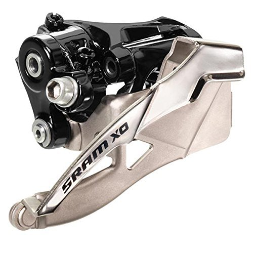SRAM X0 Front Derailleur 2X10 High Direct Mount Bottom Pull, 34T by SRAM Cyclone Bicycle