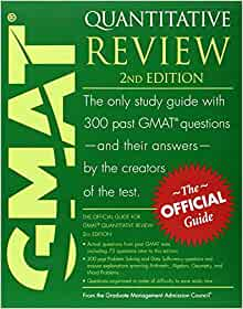 Official Guide For Gmat Quantitative Review Pdf