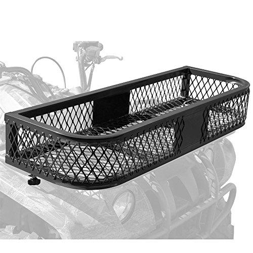 Rage Powersports ATVFB-3713 Black Front Mesh ATV Rack (Atv Clutch Basket)