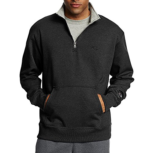 X-Large Sporty Fleece Pullover - 1