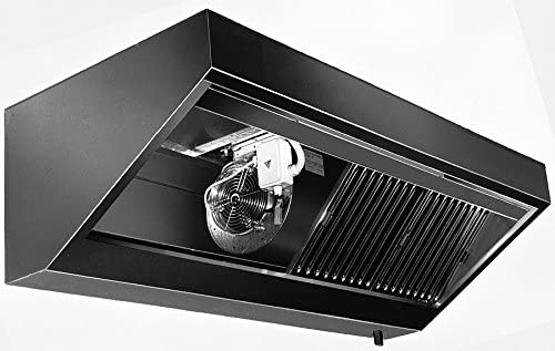 Pared Campana sin motor (Longitud X Profundidad): 100 x 90 cm con protección ignífuga filtro clase A: Amazon.es: Grandes electrodomésticos