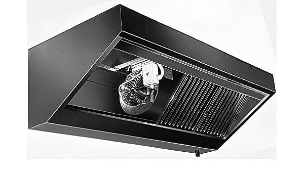 Pared Campana con motor (Longitud X Profundidad): 280 x 90 cm con protección ignífuga filtro clase A: Amazon.es: Grandes electrodomésticos