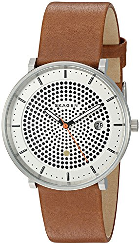 Skagen-Mens-SKW6277-Hald-Dark-Brown-Leather-Watch