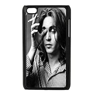iPod Touch 4 Case Black Johnny Depp 4 J6T2IA