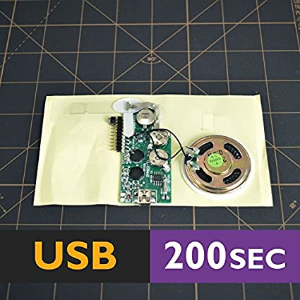 Amazon 200s usb module for greeting card device voice music 200s usb module for greeting card device voice music cards musical sound mp3 m4hsunfo