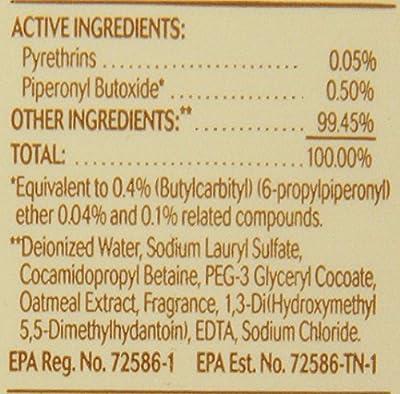 Oster Oatmeal Naturals Flea and Tick Shampoo, 18-Ounce