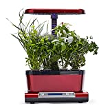AeroGarden Harvest Elite WiFi with Gourmet Herbs Seed Pod Kit, Red