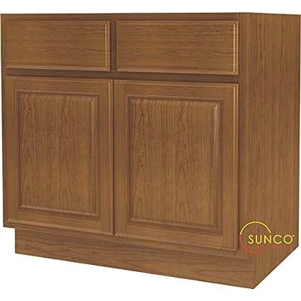 Kitchen Cabinet Base 2-Dr 36in