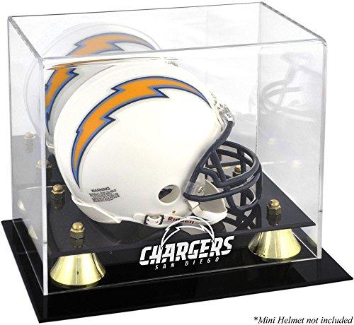 Mounted Memories San Diego Chargers Mini Helmet Display Case