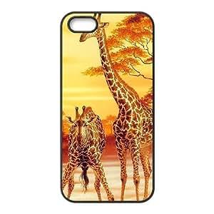 VNCASE Giraffe Phone Case For iPhone 5,5S [Pattern-1]