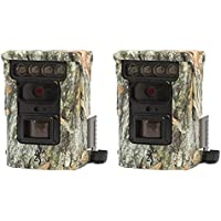 Browning Trail Cameras Defender 850 120 20MP FHD Bluetooth Game Camera, 2 Pack