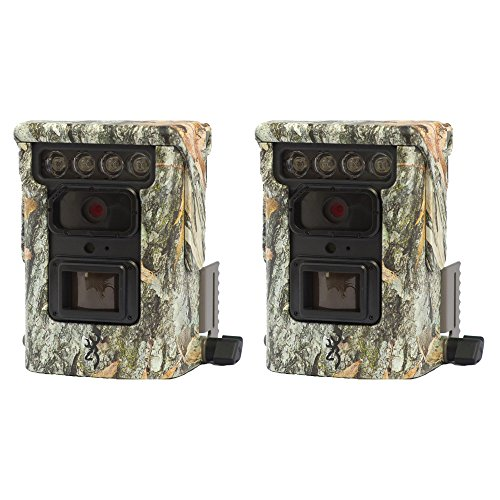 Browning Trail Cameras Defender 850 120' 20MP FHD Bluetooth Game Camera, 2 Pack by Browning Trail Cameras