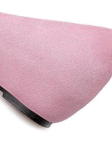 Pink Mujer vellón Ggx 5 Uk4 Beige 7 Cuña 5 Puntiagudos Trabajo Casual us9 Beige us6 cuñas Rojo tacón Uk7 Cn37 tacones Eu37 Cn41 Eu40 negro 5 Rosa Y oficina ZdxAdqvw