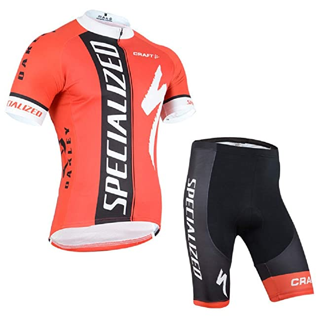 8e12cd5b0 ETBO 2015 Specialized Team Cycling Jersey Shorts Team Cycling Kit  Amazon.ca   Clothing   Accessories