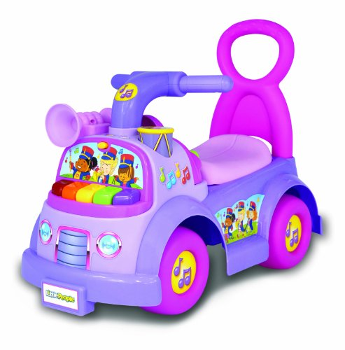 Fisher-Price Little People Music Parade Ride-On, Purple