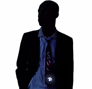 Kandi Gear Corbata con Luz LED de la Bandera Americana que se ...