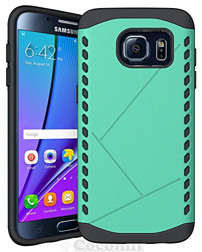 Galaxy S7 Edge Case, Cocomii Paladin Armor NEW [Heavy Duty] Premium Tactical Grip Slim Fit Shockproof Hard Bumper Shell [Military Defender] Full Body Dual Layer Rugged Cover Samsung G935 (Green)