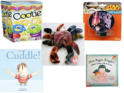 le - Ages 3-5 [5 Piece] - Cootie Game - Star Wars Darth Vader Night Light - Ty Teenie Beanie Baby - Claude The Crab - Cuddle. Hardcover Book - Mrs. Piggle-Wiggle's Won't-Take-a-B ()