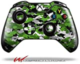 WraptorCamo Digital Camo Green – Decal Style Skin fits Microsoft XBOX One Wireless Controller (CONTROLLER NOT INCLUDED) Review