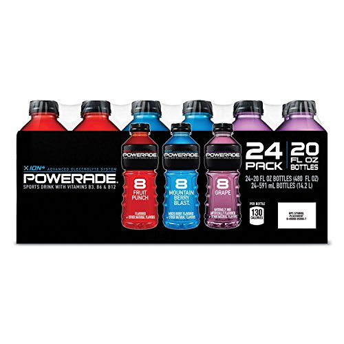 Powerade 20 Oz Variety 24 Pack