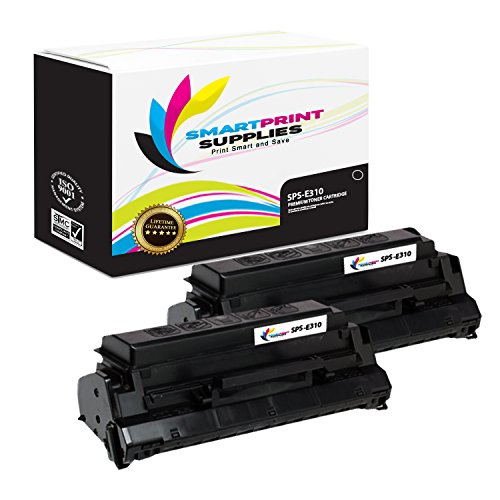 Smart Print Supplies Compatible 13T0101 Black Toner Cartridge Replacement for Lexmark Optra E310 E312 Printers (6,000 Pages) - 2 Pack