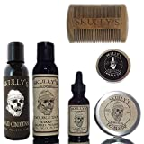 Skully's Ultimate Double Tap Beard Care Kit, beard kit for men