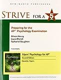 Strive for 5: Preparing for the AP Psychology Examination, David G. Myers and Allison Herzig, 1464156050