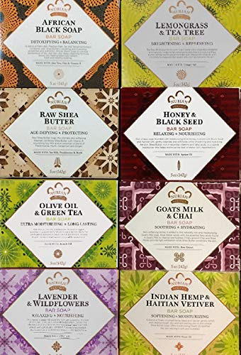 Nubian Heritage Soap Combo 8 Pack … iwgl