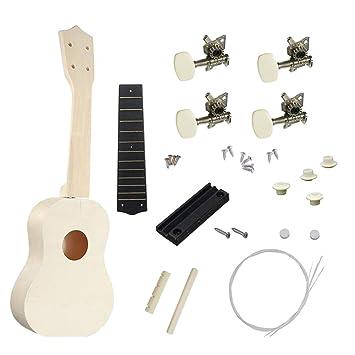 Originaltree - Ukelele de 53,34 cm, Kit de Soporte para Guitarra, Montaje