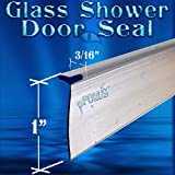 DS8211 Framed Glass Shower Door Sweep, Wipe, Seal 36