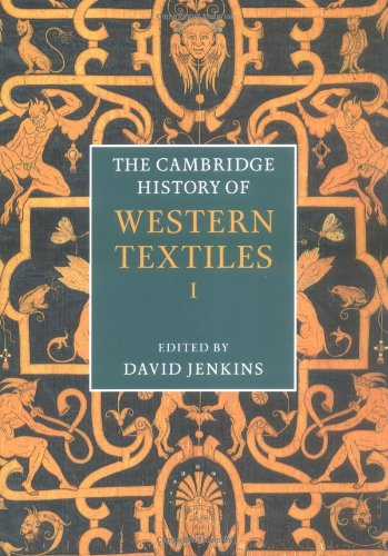 The Cambridge History of Western Textiles 2 Volume Hardback Boxed Set