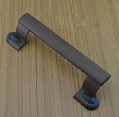 Raing Color de Lujo Puerta corredera Gran asa Puerta corredera manija de Aluminio aleación de Acero Puerta Agujero 180m m d: Amazon.es: Hogar