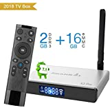 SmallRocket X3 PRO Google Android 7.1 OS TV Box 4K Media Player 2G RAM 16G ROM Smart Mini Box With Builtin 2.4Ghz WIFI Bluetooth4.0 and Voice Remote Control