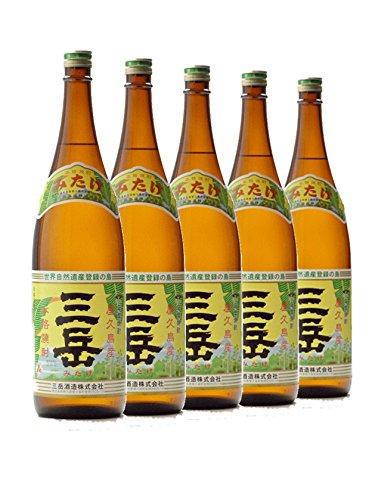 三岳1800ml 5本セット 屋久島 25度 芋焼酎 三岳酒造 B07GCZKPGN Parent