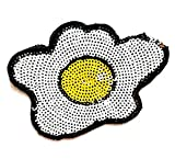 Nipitshop Patches Sequin Fried Egg Breakfast