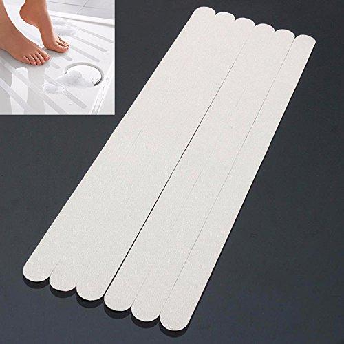 Price comparison product image 6Pcs PVC Bathroom Ceramic Tile Floor Anti Slip Stickers Bathtub Safety Tape Mat