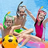 Gintenco Kids Snorkel Set, Dry Top Snorkel Mask