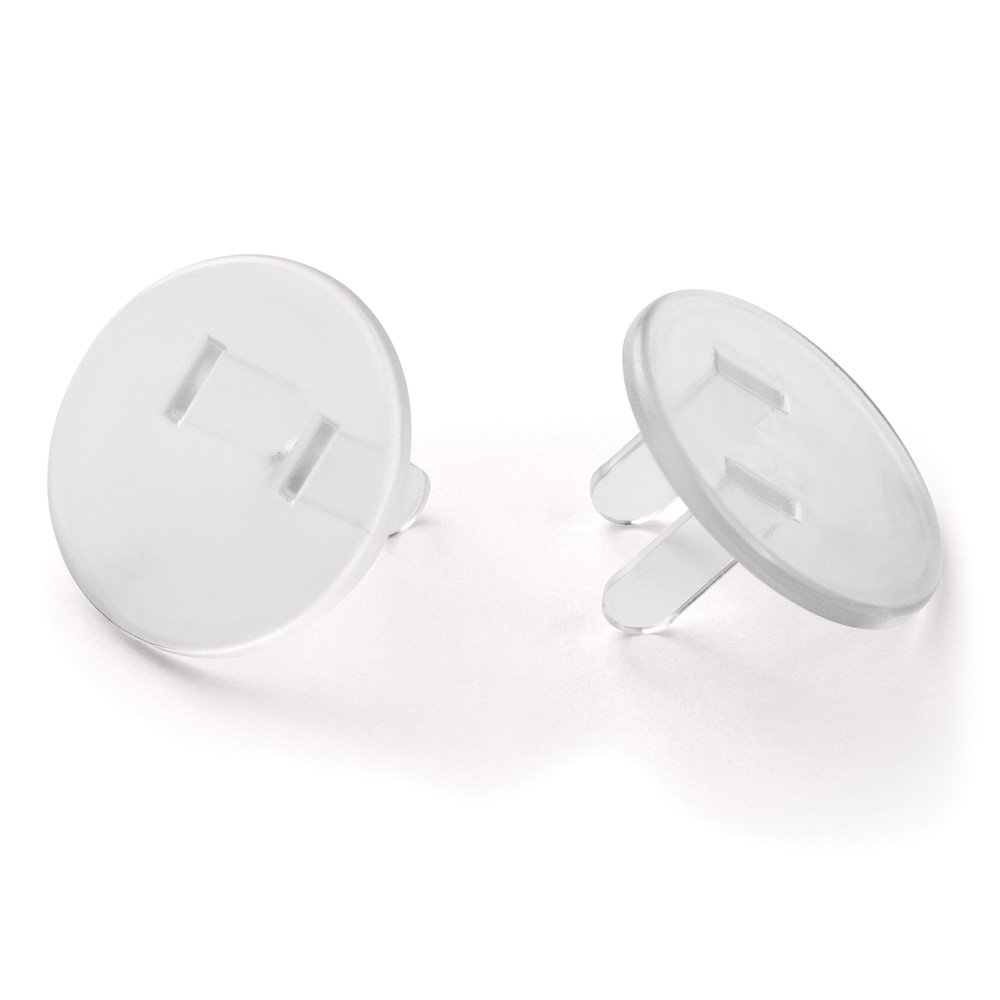 Amerelle SCCL Composite Safety Caps (8 Pack), Clear