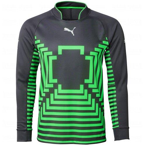 Puma Mens Statement Goalie Jersey Medium Ebony/Green