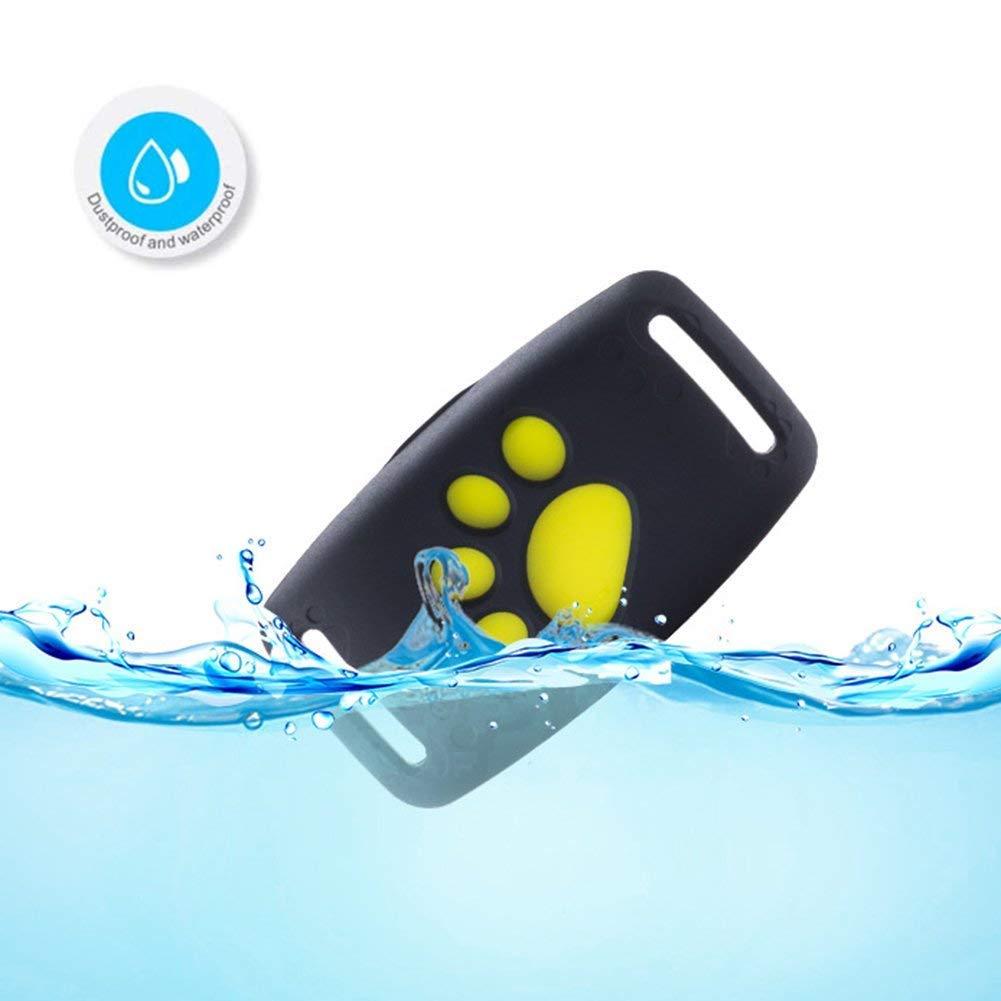 Sunzit Rastreador GPS para Mascotas, Perros y Gatos Dispositivo de Seguimiento GPS para Mascotas, localizador GPS para Perros GPS Collar para Gatos: ...