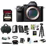 Sony Alpha a7SII Mirrorless Digital Camera Bundle